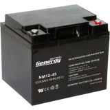 batterie d'acide de plomb de 12V 45ah pour UPS 3kVA