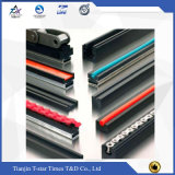 착색된 기계장치 UHMW-PE 플라스틱 가이드 레일