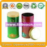 شاي قصدير يستطيع صندوق مع [فوود غرد] لأنّ شاي يعبّئ