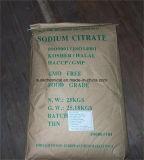 Цитрат Kosher/Halal/HACCP/GMP натрия с Bp USP, Fccv, E331
