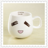 Vente en gros Cute Design Low Price White White Tasse en céramique