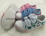 Ботинки холстины самой последней конструкции славные Low-Cut для малышей (FF924-9)