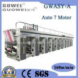 PLC Contol 8 Machine van de Druk van de Gravure van de Kleur de Automatische