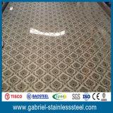 Hoja de acero inoxidable decorativa del espesor de la categoría alimenticia AISI 304 0.8m m