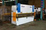 dobladora hidráulica del freno Wc67y-125t/3200 de la prensa del doblador 125t del CNC de la longitud de 3200m m
