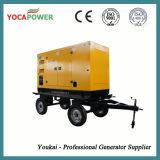 электрический генератор трейлера 100kw звукоизоляционный тепловозный