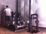 Sistema della pompa di innesco dell'acqua con controllo del PLC