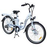 """26 """" Ce elettrico bianco della bici del blocco per grafici 36V della lega di alluminio (JSL038XB-2)"""