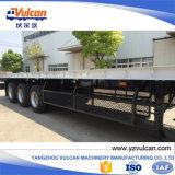 Acoplado plano del transporte de contenedores del árbol del utilitario 3 semi