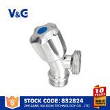 Valvola di angolo in valvola d'ottone di refrigerazione (VG-E12051)