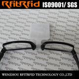 Tag pequeno do papel lustroso RFID do tamanho 13.56MHz para óculos de sol