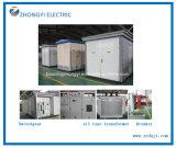 Subestación encajonada al aire libre eléctrica de la distribución de potencia del sistema de transmisión
