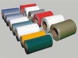 Prepainted鋼鉄コイル(dx51d+z)塗られるカラー