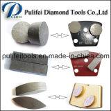 Segmento de moedura concreto para a máquina de moedura de superfície do assoalho