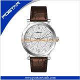 Relógio de pulso suíço das senhoras de Movt do diamante do projeto da forma