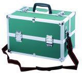 China-harter Fall-Werkzeugkasten-Hilfsmittel-Kasten mit 4 Plastiktellersegmenten nach innen