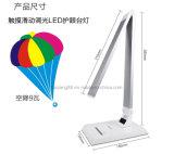 Lámpara de escritorio del LED con la purificación negativa del aire del ion