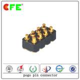 Conector de pino de aço inoxidável SMT de 8 pinos SMT