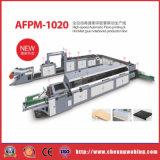 Fonte chaude de modèle neuf de 12 brides collant la machine Afpm-1020 de cahiers