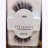Manufactory for humanly Hair False Eyelashes Accept private label