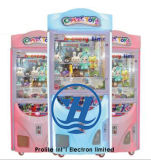 Máquina de juego popular de la venta de la garra del empujador de la moneda del equipo del parque de atracciones (ZJ-CGA-4)