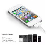 USB di carico universale del caricatore di 1m per il cavo di dati iPhone4 per iPhone3, 4, 4s