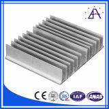 Profil en aluminium d'extrusion de radiateur d'OEM