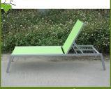 Fainéant extérieur moderne de Sun de tissu de Textilene de patio de meubles de loisirs