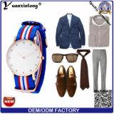 Il vestito caldo di lusso da moda delle signore di modo dell'orologio di vendita di affari del diamante della vigilanza degli uomini del cuoio genuino Yxl-241 guarda il Mens