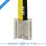 Kundenspezifisches Stadt-Großhandelsmarathon-laufende Medaille zu Fabrik-Preis