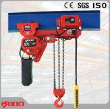 Таль с цепью Низк-Headroom вагонетки крюка промышленного здания Kixio 7.5ton электрическая