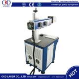 Máquina de cuero de madera plástica de la marca del laser del CO2 de la marca