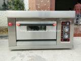Kundenspezifischer kommerzieller einzelner Plattform-Gas-Ofen für Backen-Brot
