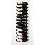 ワイン貯蔵室の壁シリーズ36びんの金属の壁に取り付けられたワインラック