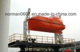 Barco salva-vidas do fuzileiro naval do SOLAS 7m, barco Lifesaving totalmente incluido, canoa de salvação