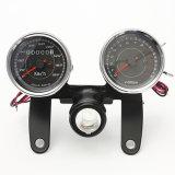 Calibrador universal del velocímetro de la motocicleta Tachometer+Odometer del LED