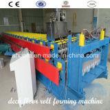 Double roulis de panneau d'étage de Decking formant la machine