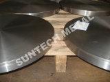 Plateado de metal revestido bimetálico Titanium de la soldadura explosiva del acero de carbón