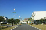 60W太陽風のケニヤの統合された街灯システム