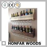 Cremagliera di legno di memoria del vino della mobilia domestica