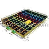 Neuer Entwurfs-Innentrampoline-Park für Verkauf (BJ-TR06)
