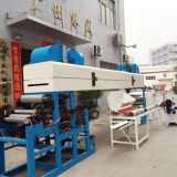 Máquina de revestimiento de cinta adhesiva de calentamiento por circulación de aire caliente