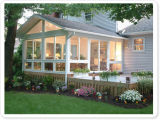 Woodwin Verkaufsschlager-grünes Aluminiumhaus für Landhaus-Garten