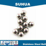 """1/4 """" bola de acero inoxidable AISI316 G60 para los rodamientos"""