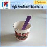Taza de papel de encargo disponible del yogur de Prinetd