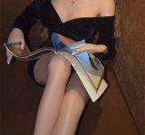 Куклы влюбленности ощупывания металла куклы секса силикона Sapm43A определенные размер жизнью каркасные реальные