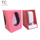 Caja de embalaje de Wtach del regalo plástico del color de la simplicidad