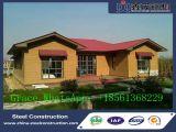 Casa residencial clara Prefab profissional da construção de aço