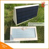 Nova luz solar 57LED Solar Outdoor Lamp Sensor de movimento PIR impermeável Lâmpada solar para decoração de jardim