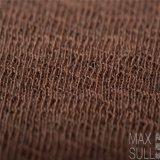 Wolle-Baumwoll/Acrylic-Mischwolle-Gewebe für Herbst in Brown